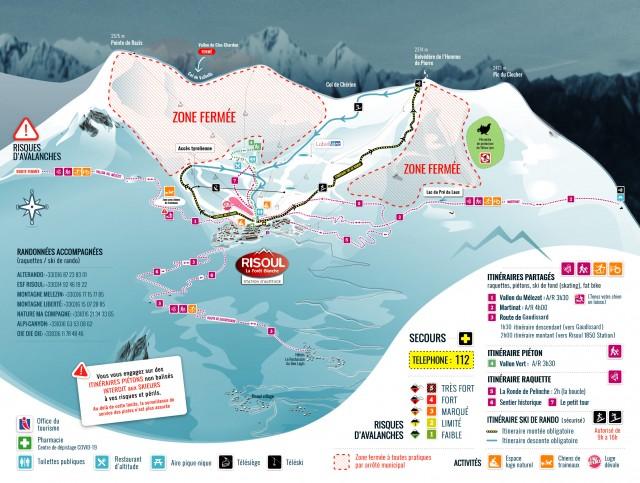 Itinéraires partagés hiver 2020/2021