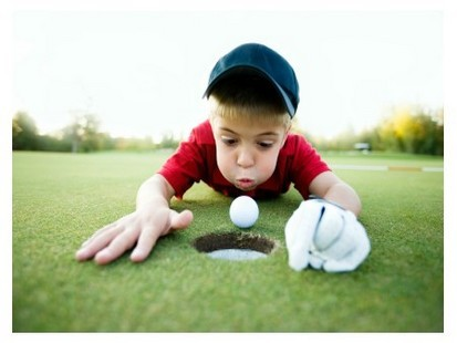Golf practicing
