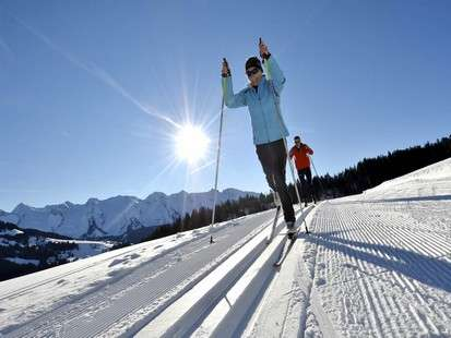 Accompagnateur ski de fond