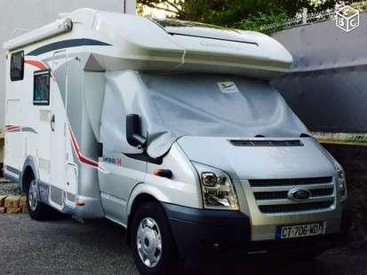 Emplacement de camping car