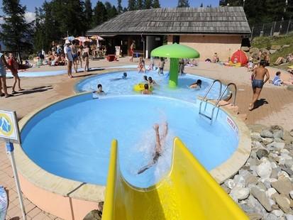 Swimming pool in Risoul