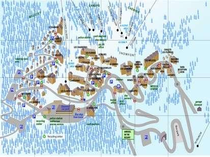Plan de la station