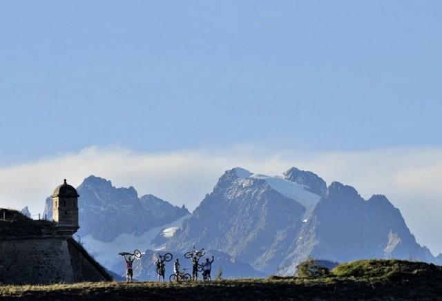 Mountain Bikes routes Risoul VTT CAMP