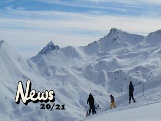 Ouverture Saison d'hiver 2020/2021